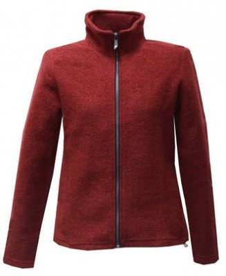 Ivanhoe of Sweden - Brodal felted cardigan for women red