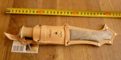 Lapin Puukko Furred sheath 3