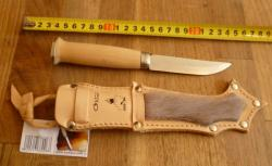 Lapin Puukko Furred sheath 2