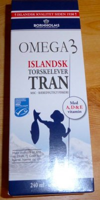 Lysi Cod Liver Oil Tran 240 ml from Iceland