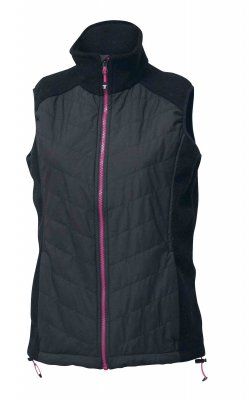 Ivanhoe of Sweden - Windbreaker Vest Pulsar Black