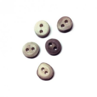 Five Reindeer horn buttons