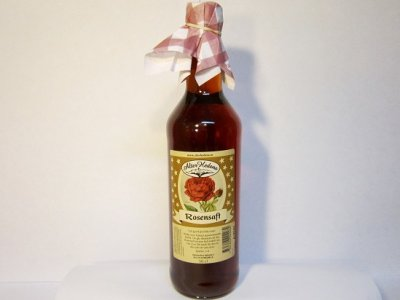 Juice from roses 0.5 Liter