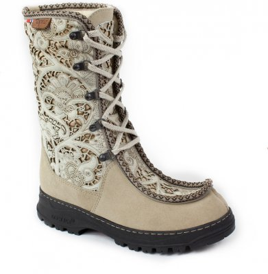 Artic Shoes Topaz Kuhfell Stiefel Runa Boots weiß