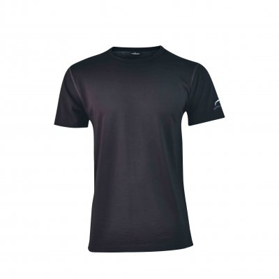 Ivanhoe of Sweden Merino T-Shirt Agaton black