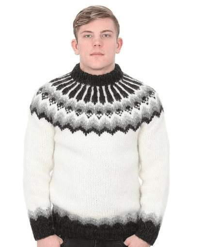 a01b11b291 ... Blue - Wool Sweaters - Nordic Store Icelandic  wholesale price 66387  bafef Handknitting Association of Iceland Icelandic sweater White ...